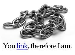 You link, therefore I am.