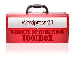 Website Optimization Toolbok - WordPress 2.1